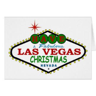 Have A Fabulous Las Vegas Christmas Card