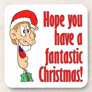 Have a fantastic, funny, merry Christmas. Nerd! Coaster
