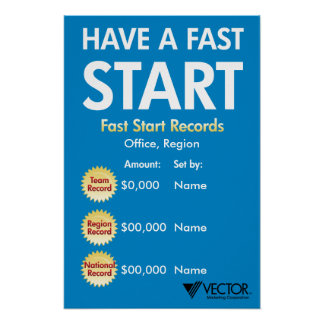 Have A Fast Start Posters