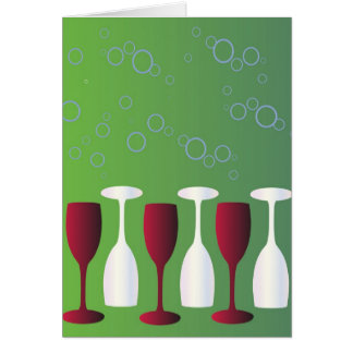 Have a glass of wine! card