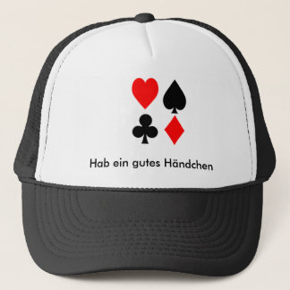 Have a good little hand trucker hat