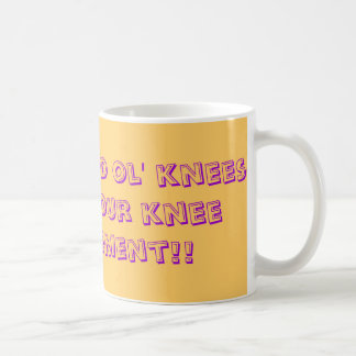 Have a good ol' knees-up for your knee replacement mug