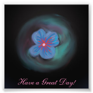 Have a Great Day Photo Print (4 x 4)