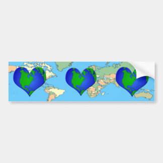 Have a  HEART for Our EARTH Bumper Sticker