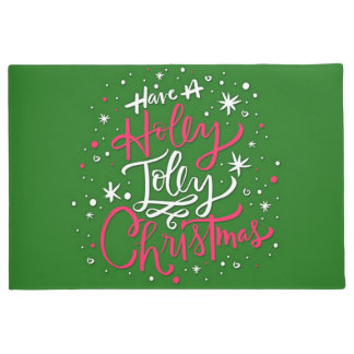 Have A Holly Jolly Christmas Doormat