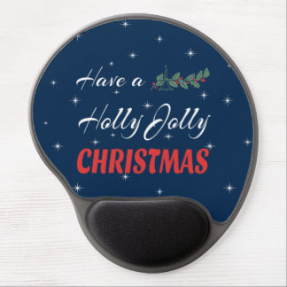 Have a Holly Jolly Christmas Gel Mouse Pad