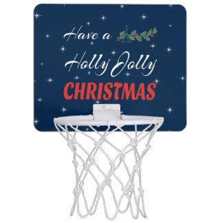 Have a Holly Jolly Christmas Mini Basketball Hoop