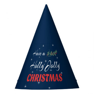 Have a Holly Jolly Christmas Party Hat