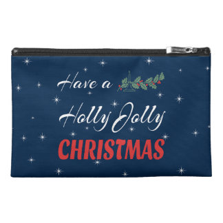 Have a Holly Jolly Christmas Travel Accessory Bag