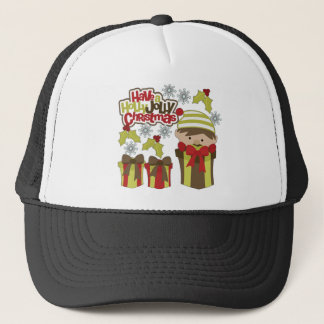 Have A Holly Jolly Christmas Trucker Hat