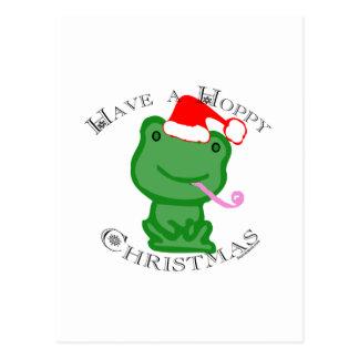 Have a Hoppy Christmas! Postcard