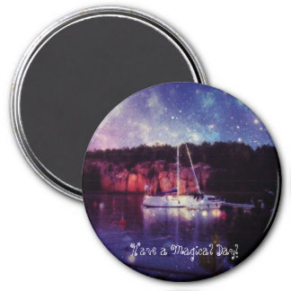 Have a Magical Day! 7.5 Cm Round Magnet