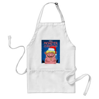 Have a Monster Christmas Apron