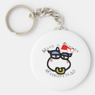 Have a Mooey Christmas! Key Chain