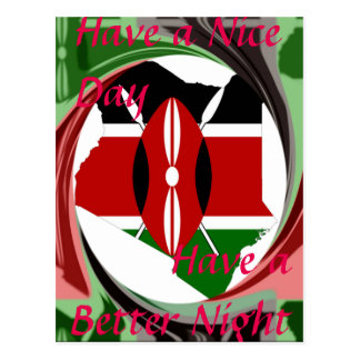 Have a Nice Day Kenya Hakuna Matata Postcard