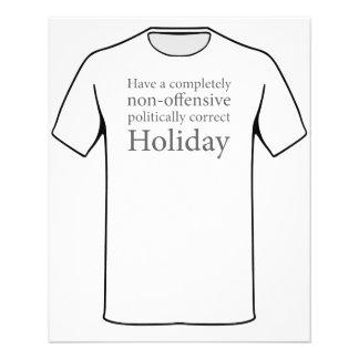 Have a Politically Correct Holiday 11.5 Cm X 14 Cm Flyer