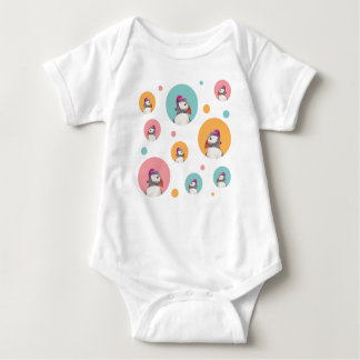 Have a puffin' good Christmas! apparel Baby Bodysuit