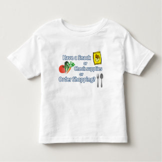 'Have a Snack, Check Supplies or ..?' Game T-Shirt