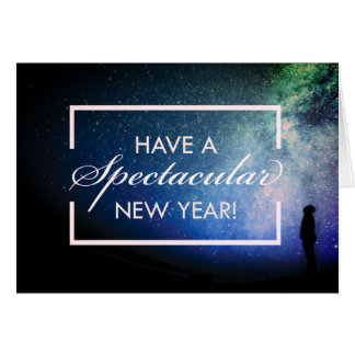 Have a Spectacular New Year! Card. Card