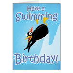 Have a Swimming Birthday Cards