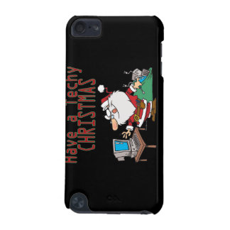 have a techy christmas computer geek santa iPod touch (5th generation) cases