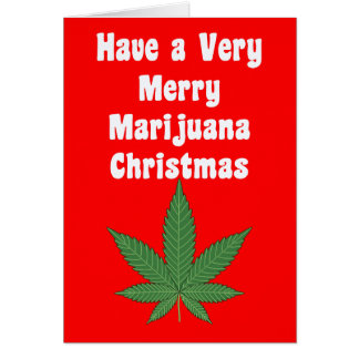 Have a Very Merry MaryWanna Christmas Personalized Card