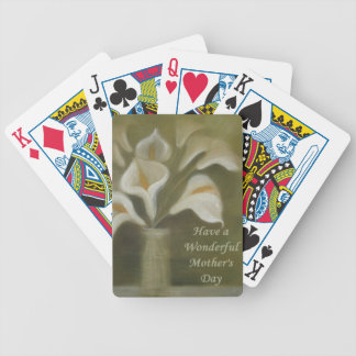 Have A Wonderful Mother's Day - Calla Poker Deck