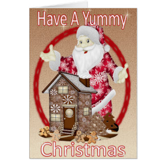 Have a Yummy Christmas Card