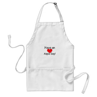 Have An Aspie Day (Smiley Hrt) Standard Apron