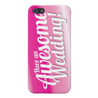 Have an awesome Wedding iPhone 5/5S Cover