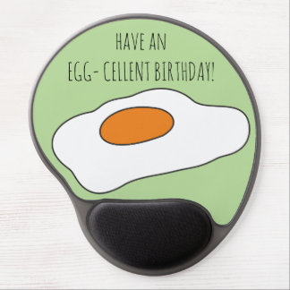 Have an EGG- CELLENT BIRTHDAY! Funny Mousepad