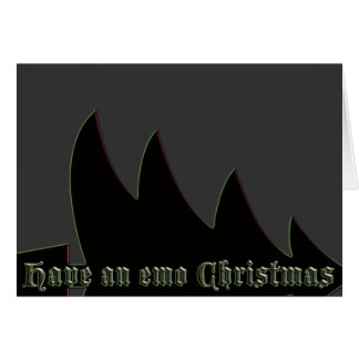 Have an emo Christmas Card