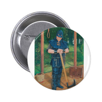 Have axe will travel pinback buttons