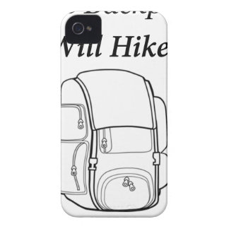 Have Backpack Will Hike iPhone 4 Case