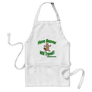 Have Beaver Will Travel Aprons
