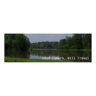 Have Camera, Will Travel Pack Of Skinny Business Cards