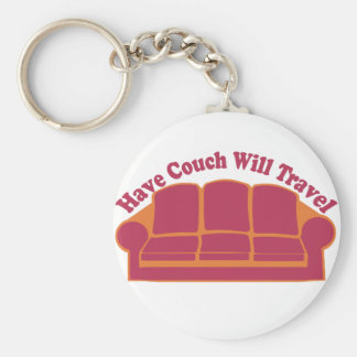 Have Couch Will Travel Key Ring