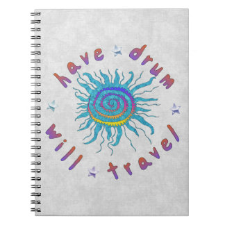Have Drum Will Travel Notebook