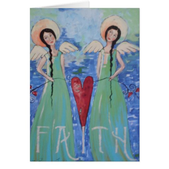 Have Faith Angels Card