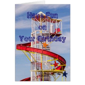 Have fun Birthday card