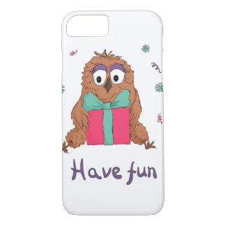 have fun with own and gift box iPhone 7 case