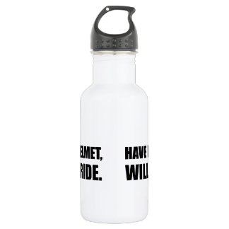 Have Helmet Will Ride 532 Ml Water Bottle