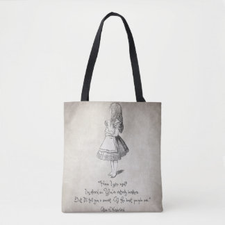 Have I Gone Mad Quote Tote Bag