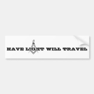 Have Light Will Travel - Bumper Sticker