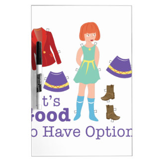 Have Options Dry Erase Board