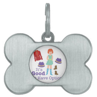 Have Options Pet ID Tag