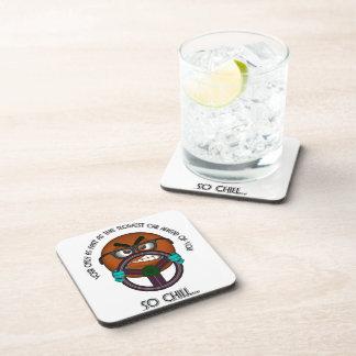 Have Patients Behind The Wheel Beverage Coasters