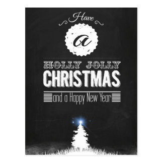 Have to Holly Jolly Christmas Postcard