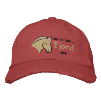 Have You Drive a Fjord Lately? Embroidered Hat