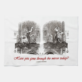 Have You Gone Through The Mirror Today? (Alice) Tea Towel